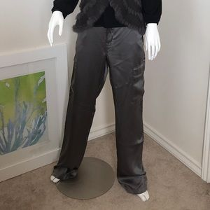 Devotion by Cookie Johnson Silk Cargo Pants NWT